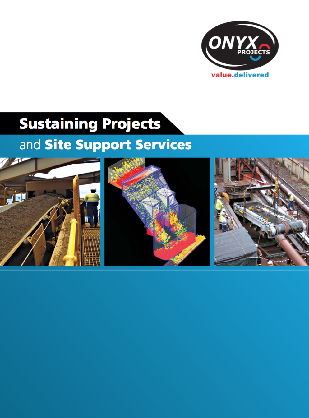 Sustaining Projects Cover Page